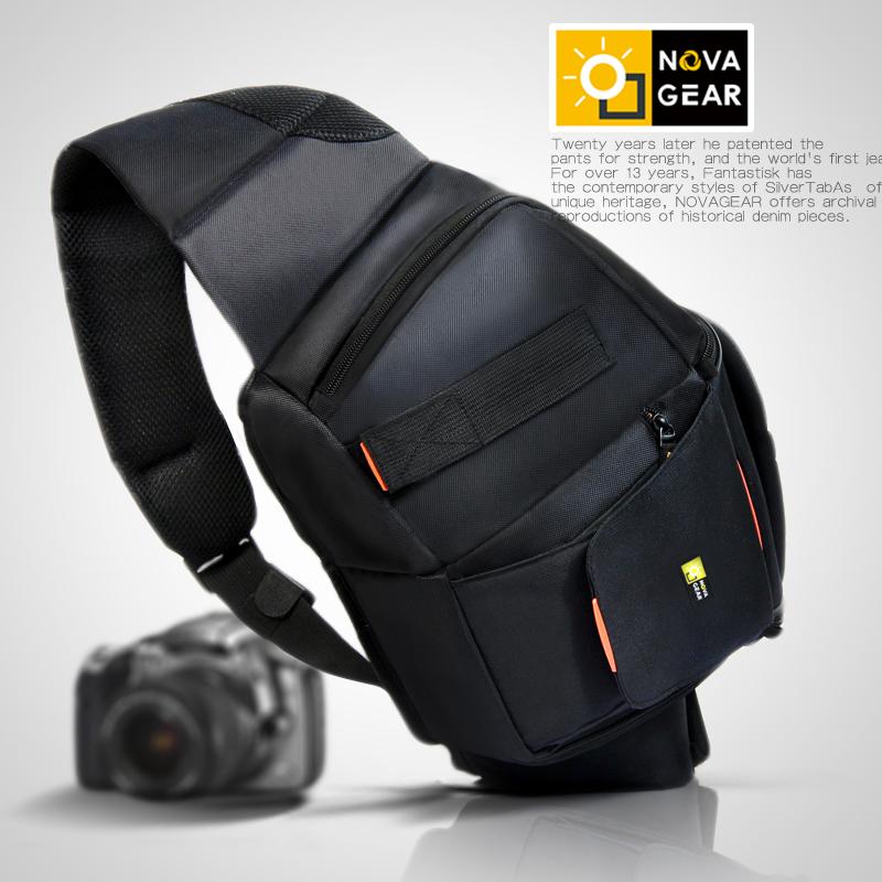 NOVAGEAR专业单反相机包单肩斜挎休闲多功能斜跨包摄影包特价热卖