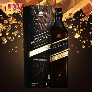 洋酒Johnnie Walker Double Black尊尼获加黑方醇黑威士忌酒