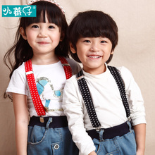 Children straps kids suspenders clip to baby suspender private elastic straps baby suspenders clip