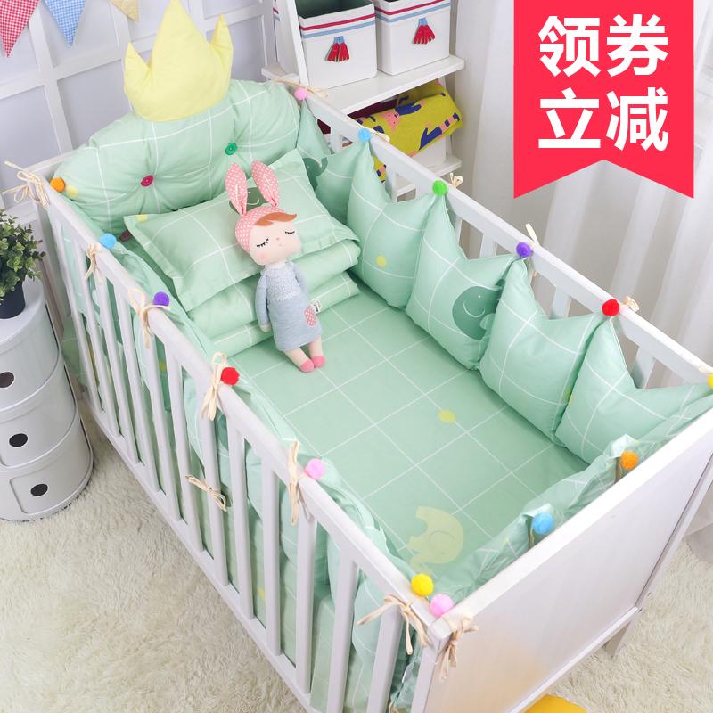 Ins кровать для младенца окружать императорская корона кровать вокруг моделирование императорская корона прикроватный подушка кровать для младенца окружать хлопок ребенок кровать статьи