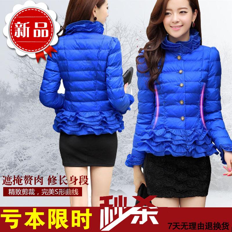 2015 новых корейских женщин короткий пуховик для осень/зима женщин трепал куртка зимы пальто женщин