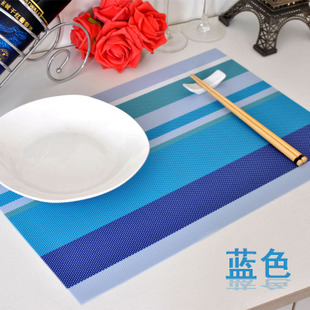 European style garden hotel supplies student placemat PVC table mats bowl pad non slip mat anti scalding child