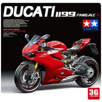 Модель 3G Tamiya Собранный мотоцикл Модель 14129 1/12 Ducati 1199 PANGALE S