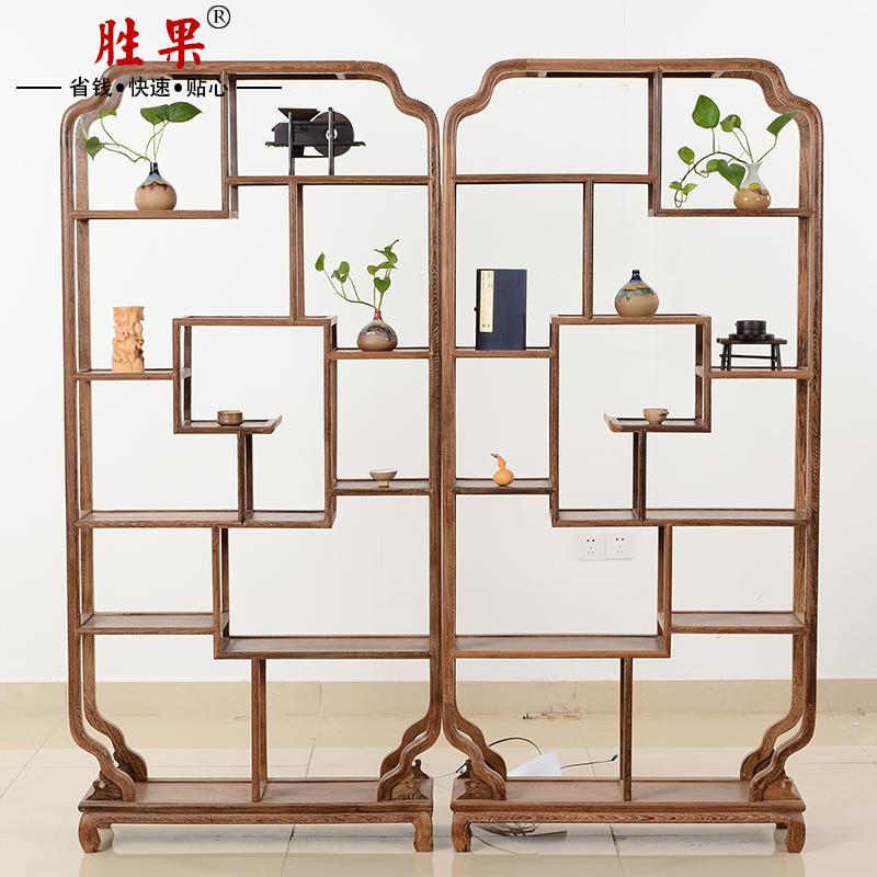 胜果古典博古架红木家具怎么样