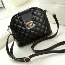 3503ad0eb8 Small sweet wind ling lattice shell package new single shoulder bag  inclined shoulder bag handbag mini