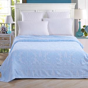纯棉毛巾被毛圈全棉毛巾毯单人双人加厚空调毯老式1.8米床夏凉被
