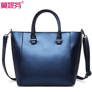 2015 new European and American fashion leather women bag handbag for fall/winter trend ladies shoulder bag casual bulk