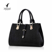 Weikeshi bag 2015 new wave leather fashion leather women bag in Europe and women's handbags shoulder bag