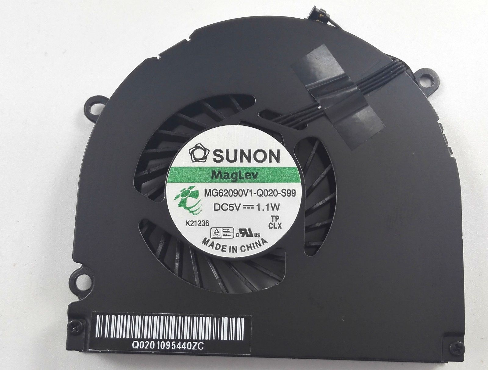 Около четырех-Apple ноутбук вентилятор SUNON 5V 1.1W вентилятор MG62090V1-Q020-S99