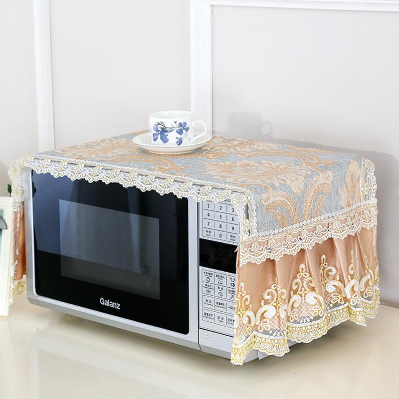 楓曼 格蘭仕微波爐罩 防塵罩美的罩子防油蓋烤箱罩微波爐套蓋巾