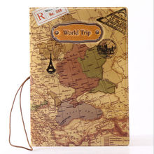 2015 New Lovely Map Travel Passport Holder Cover Identity ID