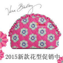 Vera Bradley vb foreign hand makeup receive lace shells dumplings bag falbala female flower cloth