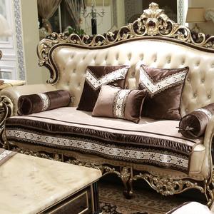 沙发垫秋冬欧式四季布艺防滑奢华真皮简约现代坐垫客厅沙发套定做