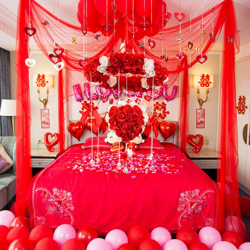 Творческий брак дом ткань положить творог романтический свадьба статьи выйти замуж декоративный гирлянда свадьба статьи пакет спальня новый дом