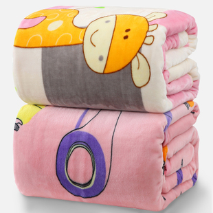 Summer air conditioning blanket blankets thick double single thin blankets coral carpet lunch child flannel blanket towel