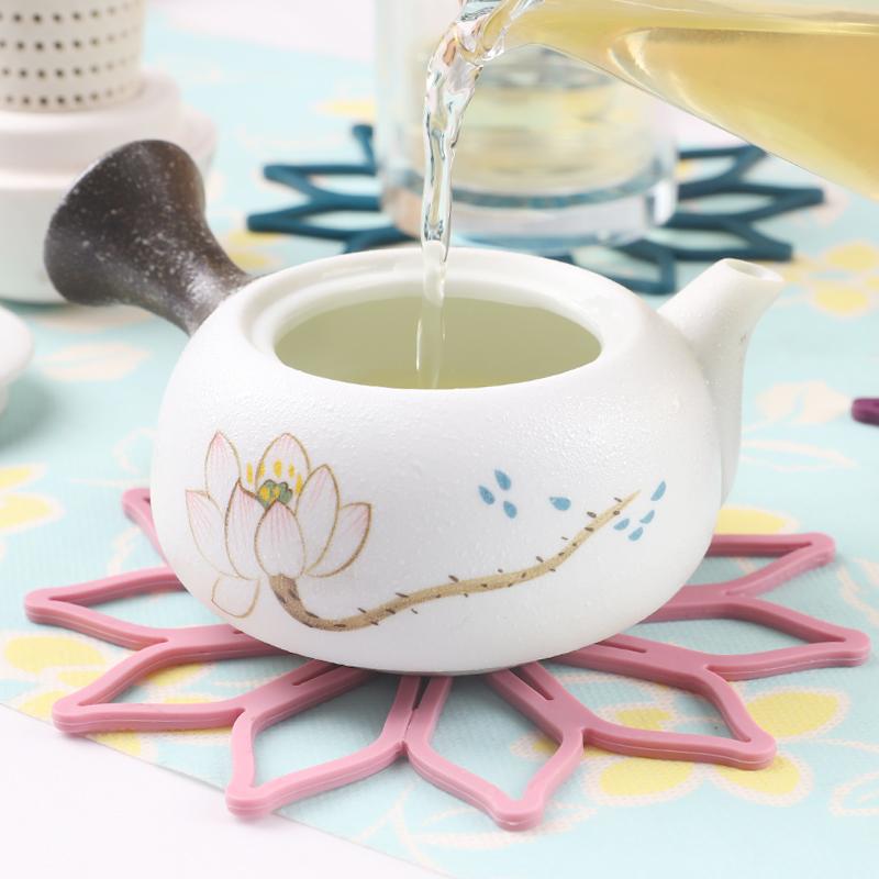 Каботажное судно творческий чаша коврик тепла площадку обеденный стол силиконовый чашка подушка чашка изоляция против горячей подушка простой чашки подушка