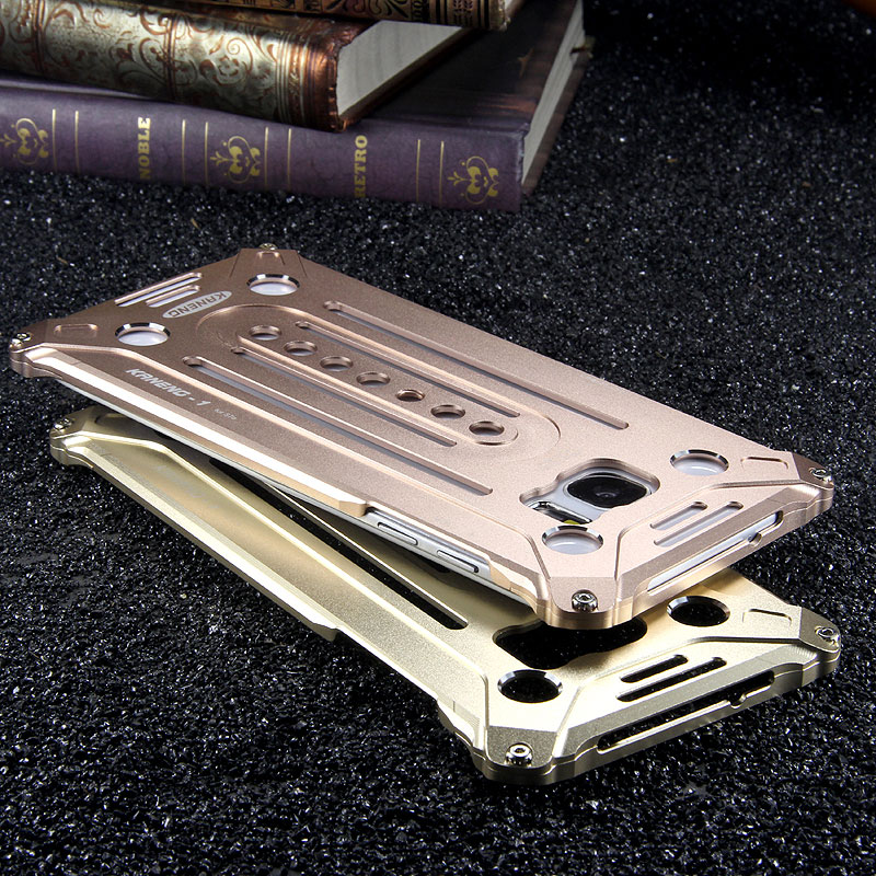 KANENG Powerful Aluminum Shell Shockproof Aerospace Metal Case Cover for Samsung Galaxy S7 Edge G9350 & S7 G9300
