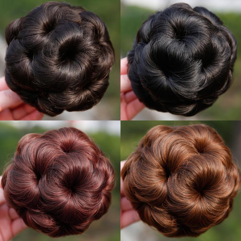 Парик моделирование работодатель девять цветы коготь парик круг девочки блюдо волосы невеста пилюля волосы пакет захват бутон глава