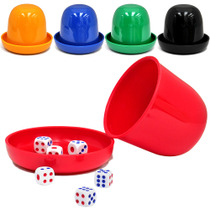 Dice Dice Set bar nightclub KTV sieve thick combination with bottom care sieve Cup stopper Cup shake color