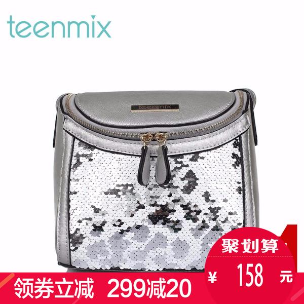 活动teenmix/天美意2016夏季PU女包S3094BX6