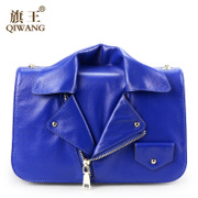 Qi Wang-fall 2015 leather women bag shopping mall chain baodan with European and American fashion shoulder bag women bag