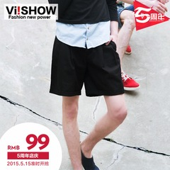 Popular European and American fashion men's running shorts viishow shorts youth leisure Horn flashes panties
