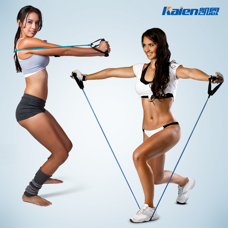 拉力器拉力繩彈力繩多 皮筋家用健身器材膠管拉力帶阻力量訓練