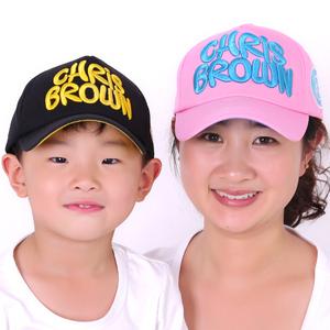 春秋夏季儿童棒球帽男童女童防晒鸭舌帽宝宝帽子男女亲子太阳帽潮