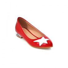 Red shoes with flat shoes comfortable single shoe designer shoes, fall 2015 college students wind the stars boat shoes