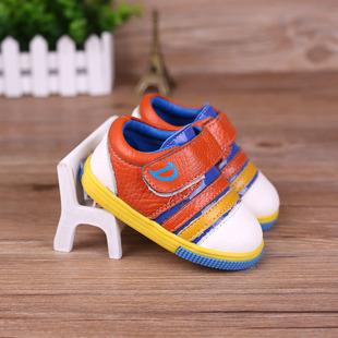 2015 осенью ребенок мальчик обувь Детская обувь коровьей малыша обувь мягкое дно Корейский небольшие кожаные ботинки Скидки