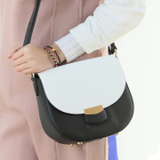 ZYA mortise-locks bag 2015 new Saddle bag, Japan and South Korea hit the color ladies bags baodan shoulder bag women bags
