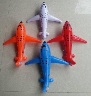 卡通飞机儿童充气玩具舞台道具婚庆学校节日礼物宝宝飞机模型