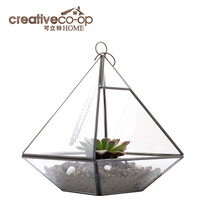 Can LTL diamond styling hanging mini Flower House Glass mini Flower House meat Plant small flower House