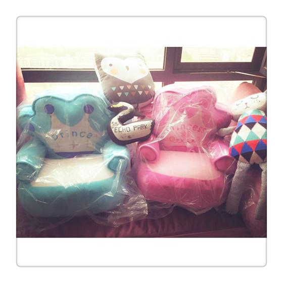 Бесплатная доставка императорская корона ребенок диван мини дети диван мультики татами подушка ребенок день рождения подарок