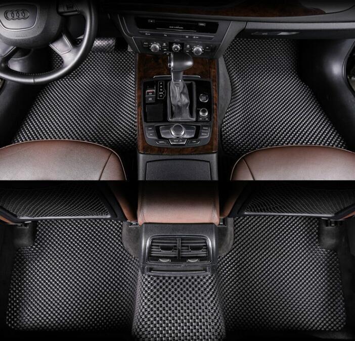 乳胶硅橡胶汽车脚垫车内地毯防水防滑环保无气味专用五座七座定制