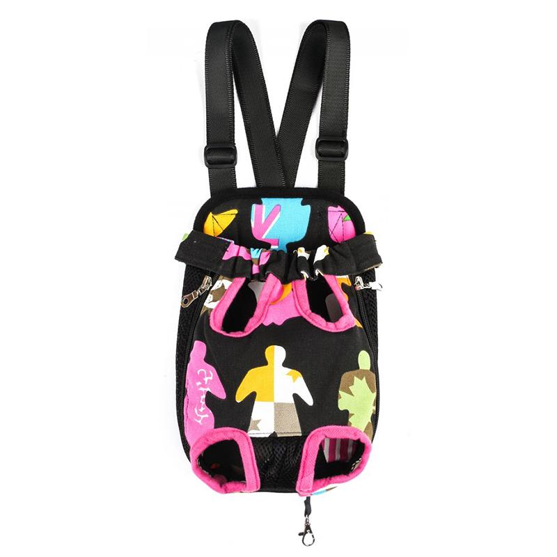 寵物狗背包雙肩貓胸前背包外出攜帶四腳包旅行便攜包泰迪袋子包郵