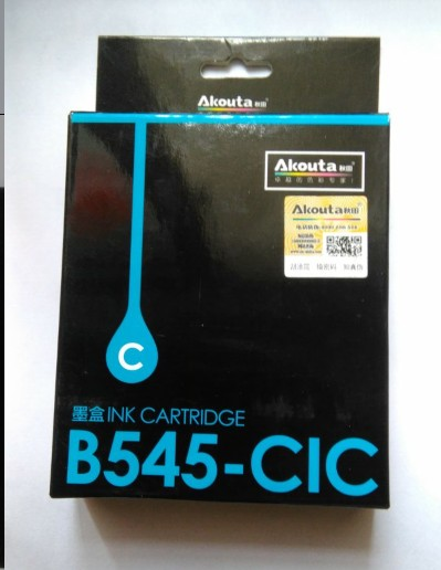 Akita b545-cic blue ink cartridge suitable for brother mfc-j100 J105 j200 b545 color ink cartridge