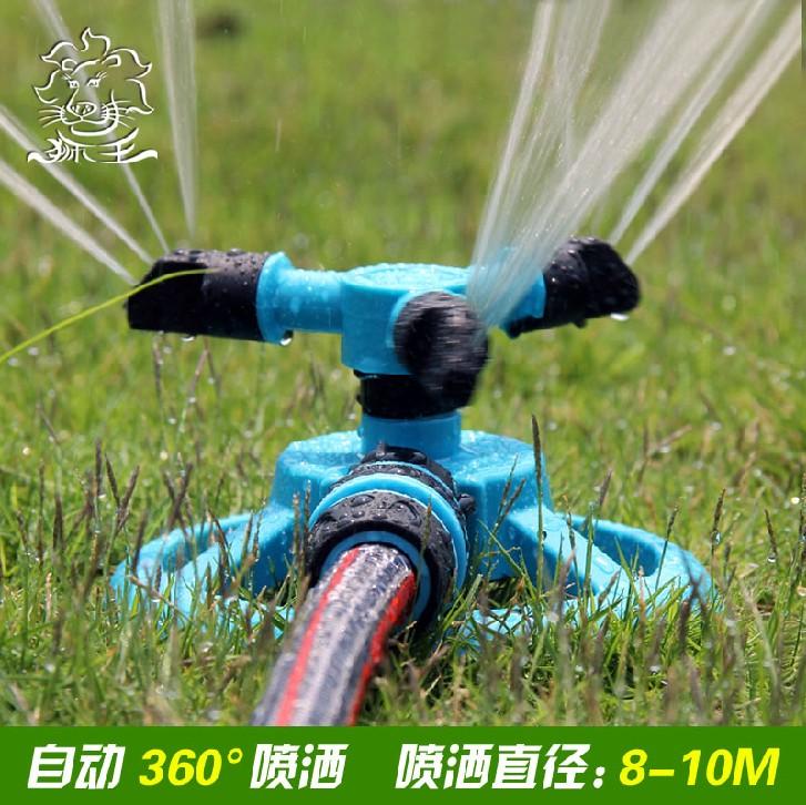 Мобильный стиль автоматическая вращение спринклерная головка сад лес газон лить Гаи / лить вода спрей настой сад искусство / падения температура посыпать нагреватель воды
