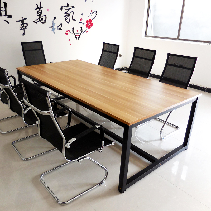 Conference Table Long Table Training Table Executive Table Long Table Workbench Meeting Negotiate Простота поколение Персонал