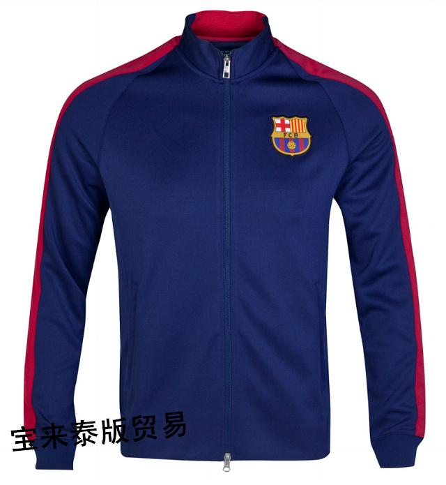 14-15/Барселона/Реал Мадрид Манчестер Сити Арсенал играть Челси футбол костюмы куртки
