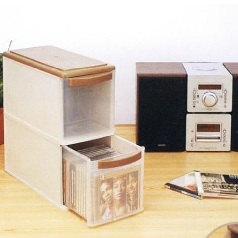 Япония импортирует CD ISETO органайзер Коробка для отделки дисков