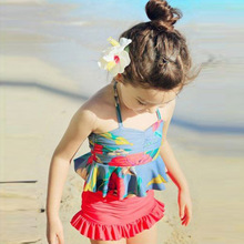 Summer, the new south Korean version of children's wear girl's skirt fission broken beautiful bikini bathing suit children the baby suit