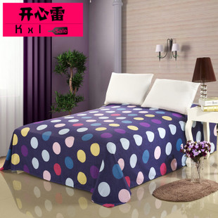 Happy Ray cotton twill dormitory Single Bed Cotton linens linen sheets