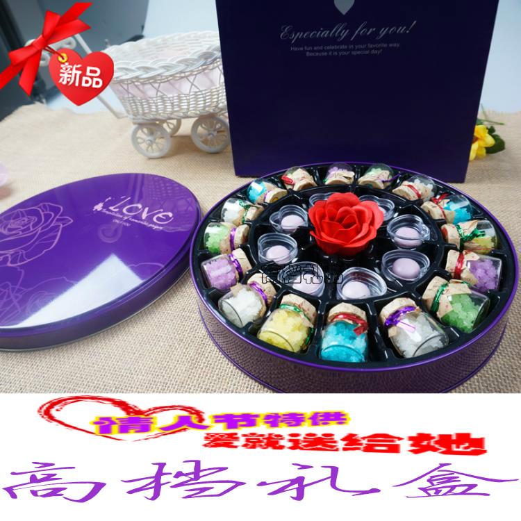 韩国许愿瓶糖果礼盒漂流瓶糖果零食男女生日创意礼物情人节送女友