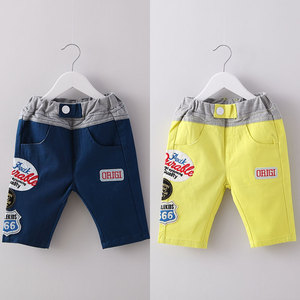 Baby pants labeling summer 2017 Korean version of the new boy kids children pants pants kz-6337 five
