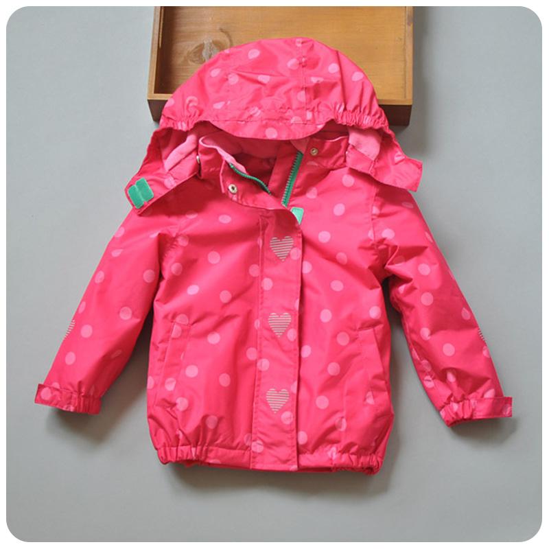 Новый 16 Детская Одежда для девочек осень/зима движения указывает волны вниз Анд Водонепроницаемый Пальто Тренч Пальто