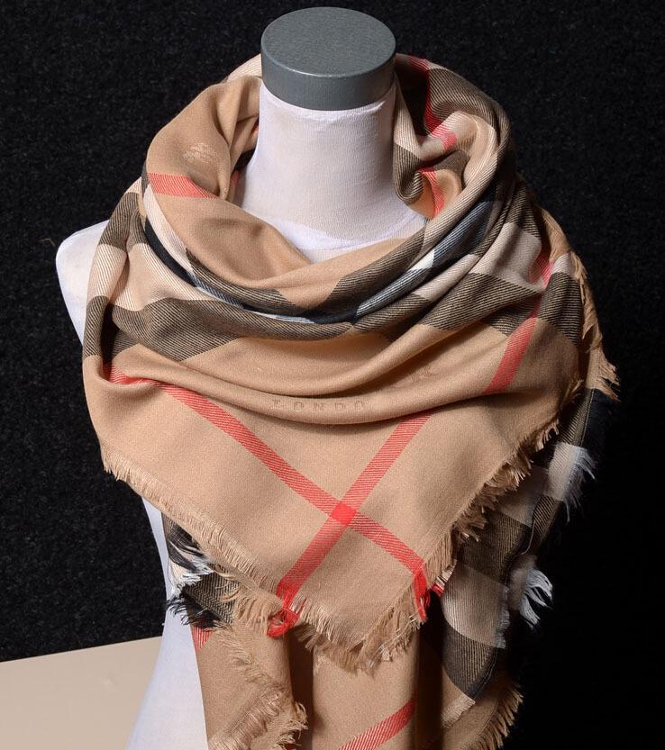 Mail классический плед хлопок шарф шаль двойной мягкой дамы осень/зима бандана