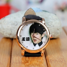Hanah tfboys with lovely lady student electronic quartz watches WH166 fashion