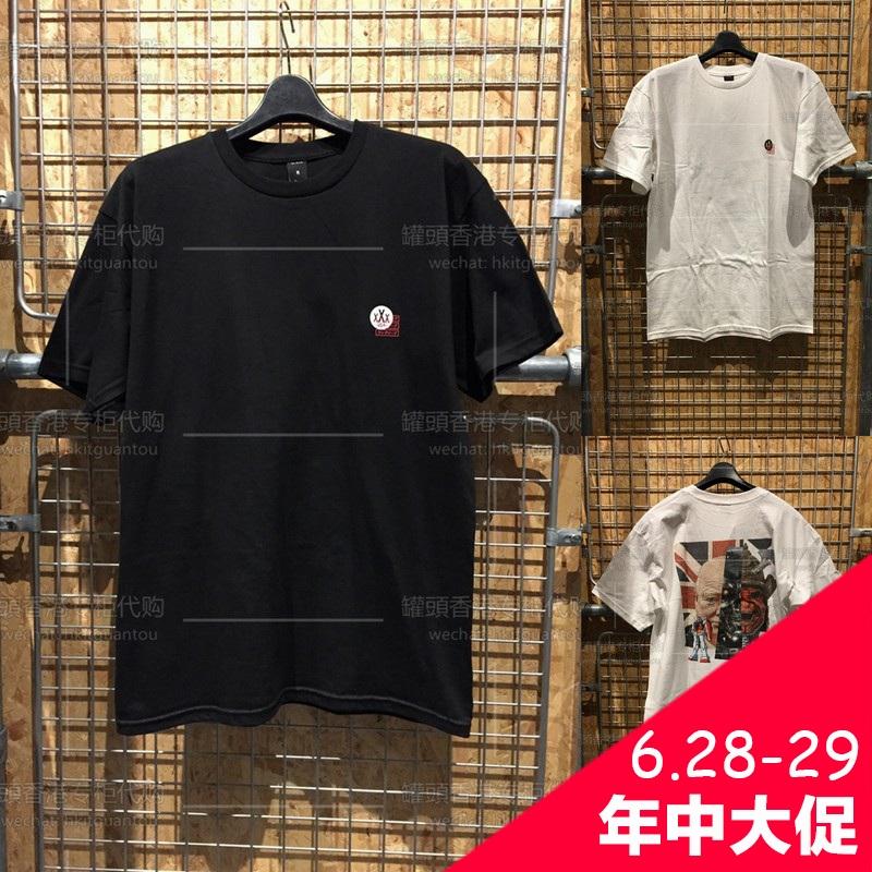 罐頭香港代购 10D 10 DEEP 17夏男 新款休闲时尚帅气T恤 TE 4328