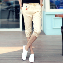 Summer summer thin men, 7 minutes of pants men's cultivate one's morality seven casual pants pants pants male male men's clothing